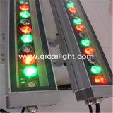 Einzelne R/G/B LED Wand-Unterlegscheibe - 36LED, Quadrat (QC-R/G/B-WW-36W-S)