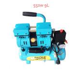 550W 9L Doble Cilindro Mini Pistón Tornillo Compresor De Aire