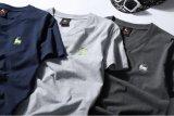 Camiseta de los hombres simples modificados para requisitos particulares del algodón