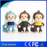 Mecanismo impulsor lindo del flash del USB del mono de la historieta caliente de la venta