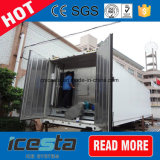 Cella frigorifera con la pianta della macchina di ghiaccio