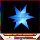 Luces inflables de la estrella el caer de las decoraciones inflables LED del partido del departamento