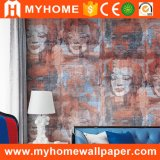 2017 Nuevo auto-adhesivo de papel pintado para el Interior de la casa