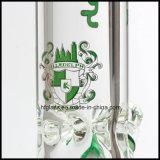 Nieuwe 12 van Illadelph Duim Pijp van het Glas van de Rokende bij de Basis van de Beker in Dikte van de Waterpijp van 9mm de Duidelijke Dikke
