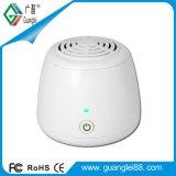 Purificador portátil do ar do mini eliminador do cheiro do desinfetante do refrigerador do líquido de limpeza de ar do ozônio