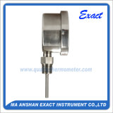 Tutto il termometro dell'acciaio inossidabile - termometro bimetallico inferiore - termometro industriale