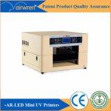 Stampante a base piatta UV ad alta velocità del cuoio di formato della stampante A3 con la testa Dx5