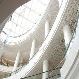 Precio de fábrica de aluminio suspendido material de la capa de la potencia del techo del azulejo perforado del techo de la estructura/del techo del metal del panel ISO9001
