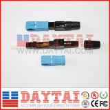 Tipo connettore veloce ottico di LC APC di alta qualità della fibra