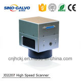 12mm Abertura de la viga Jd2207 Galvanómetro de alta velocidad Laser Scan