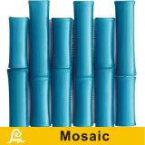 Mosaico de bambú del diseño de la venta caliente para la serie de bambú de la decoración de la pared (azul verde oscuro/del oro/de marina de bambú/azul de océano)