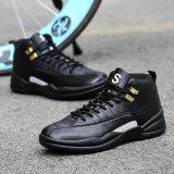 O esporte de venda quente da forma calç sapatas de basquetebol da sapatilha
