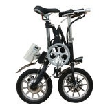 14 polegadas liga de alumínio X-Shape Mini Pocket Bicycle