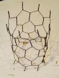 6각형 철망사 또는 치킨 와이어 메시 또는 직류 전기를 통한 6각형 철사 그물세공