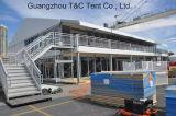Barraca da estrutura da ponte dobro do assoalho do cubo dois da alta qualidade da fábrica com revestimento do VIP