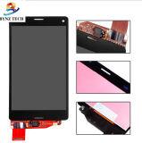 Касание LCD мобильного телефона для экрана дисплея Сони Z3 миниого