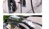 Sacchetto dell'estetica di trucco della lavata di corsa dell'organizzatore dell'imballaggio del regalo dell'articolo da toeletta del PVC