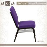 Purpel 금 정맥 프레임 교회 의자 (JY-G001)