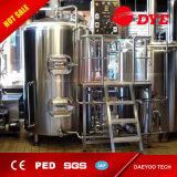1500L het Verwarmen van de stoom het Brouwen van de Brouwerij van het Bier Apparatuur