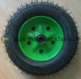 トロリー(3.50-8/350-8)のための耐久力のある空気のゴム製車輪