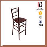 Cadeira de madeira da barra elevada do banquete do hotel do olhar (BR-B001)