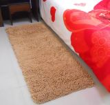 Poliéster Chenille High Pile Floor Carpet com Anti Slip Base
