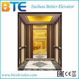 elevador luxuoso do passageiro de 1000kg Vvvf com Ce