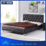 새로운 형식 나무로 되는 새겨진 침대는 튼튼하고와 편리한 디자인한다