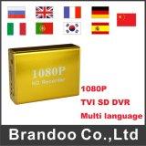 HD 1080P Tvi SD DVR с разрешением 1080P/720p/D1 опционным