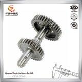 Sporn-Gang-Kegelradgetriebe-Ritzel und Welle-Keil-Welle