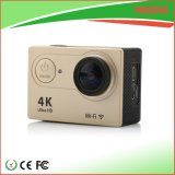 4kは画像のスポーツのための水中小型WiFiの処置のカメラを取り除く