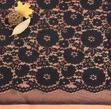 Le tissu de lacet de voile de jacquard le plus neuf