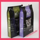 Sacos personalizados do empacotamento de alimento do animal de estimação do saco do Zipper do slider do animal de estimação