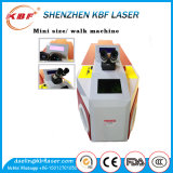 Hohe Präzisions-Laser-Punktschweissen-Maschine des Tisch-200W für Schmucksachen