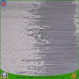 Tissu de polyester tissé par arrêt total imperméable à l'eau enduit à la maison de franc de textile pour le rideau