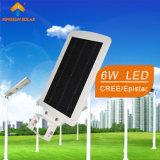 luz de calle solar integrada 6W (KS-S6)