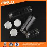 frascos de cristal vacíos del uso farmacéutico claro cosmético de la botella de cristal de 20ml 35ml 45ml con la tapa plástica del tornillo