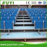Bleachers триангулярного стула Bleachers футбола структуры стальной рамки Jy-716 пластичного напольные