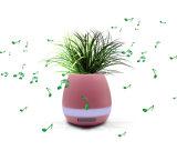 Crisol de flor sin hilos de la música de los rectángulos musicales de Bluetooth de la planta elegante del tacto