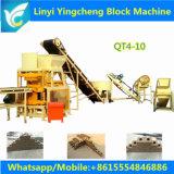 Qt4--10 Hydraform automatischer Lehm-blockierenZiegeleimaschine