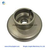 Pièce de usinage de commande numérique par ordinateur d'acier inoxydable/en métal de haute précision pour la plaque ronde