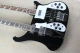Нот Hanhai/бас и гитара черной шеи двойника типа Ricken электрический