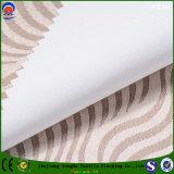 Tela impermeável tecida da cortina do escurecimento do revestimento do franco do poliéster da tela de matéria têxtil para a cortina do jacquard