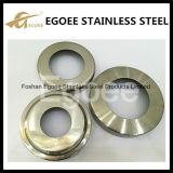 Couverture de base de poste de balustrade d'acier inoxydable de solides solubles 304 solides solubles 316