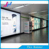 Digital Inkjet Media PVC Backlit Banner para propagandas Subway Lightbox