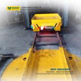 Traverser motorizado portador das cargas pesadas de trilhos transversais