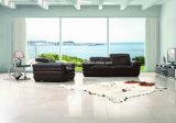 Sofá moderno do couro da sala de visitas do estilo (SBO-3998)