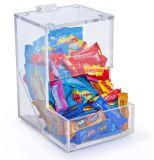 Doos van het Geval van de Opslag van het Brood van de Snack van de Koekjes van het Suikergoed van de douane de Acryl Zoete