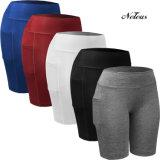 Neleo de los hombres respirables de compresión pantalones cortos ropa del desgaste Legging Nn9005