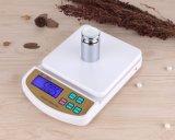 indicação digital da escala da cozinha do balanço 10kg eletrônico